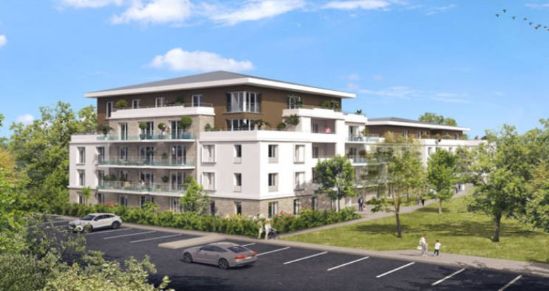 Achat / Vente programme immobilier neuf Lieusaint à deux pas du centre commercial Carré Sénart (77127) - Réf. 5855