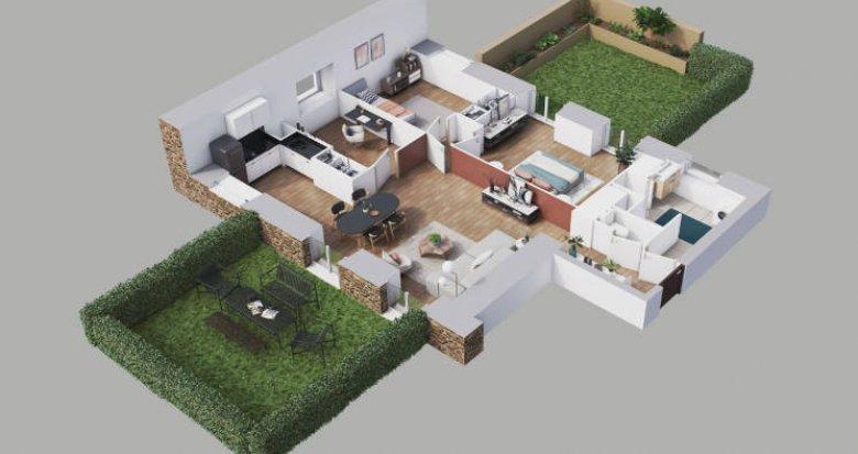 Achat / Vente programme immobilier neuf Limeil-Brévannes proche RER A (94450) - Réf. 5680