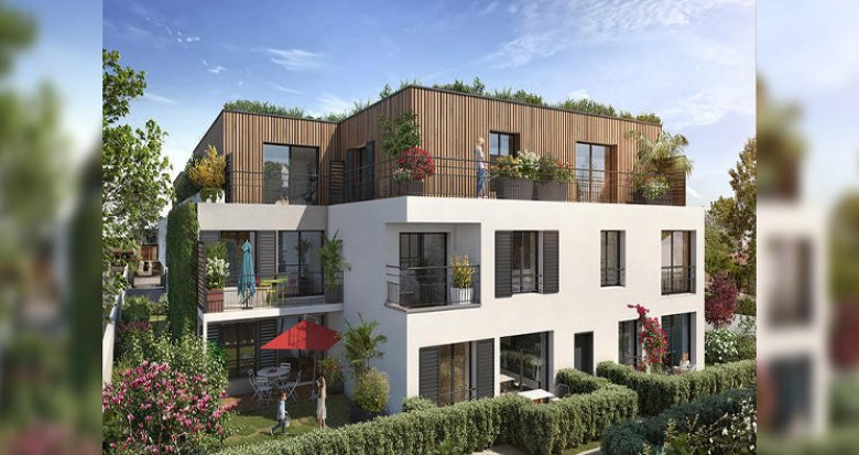 Achat / Vente programme immobilier neuf Livry-Gargan à 200 mètres du tramway (93190) - Réf. 5617