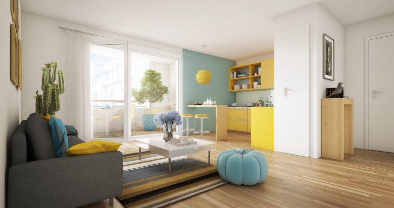 Achat / Vente programme immobilier neuf Livry-Gargan face au Parc Lefèvre (93190) - Réf. 3681