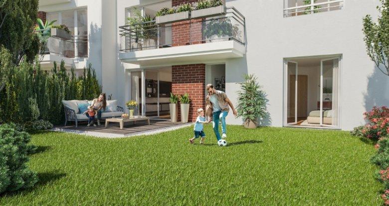 Achat / Vente programme immobilier neuf Livry-Gargan proche commodités (93190) - Réf. 5377