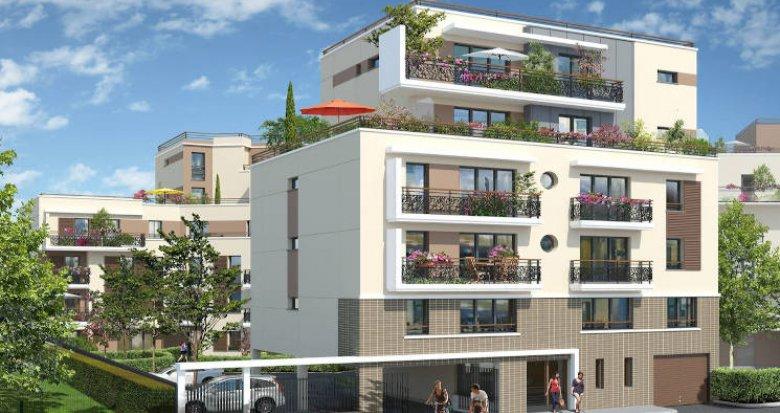 Achat / Vente programme immobilier neuf Lognes à 5 minutes du RER (77185) - Réf. 4810