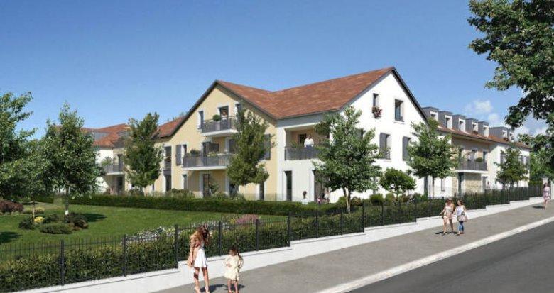Achat / Vente programme immobilier neuf Longjumeau à 700 mètres du RER (91160) - Réf. 4732