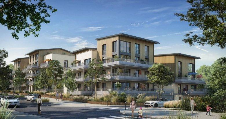 Achat / Vente programme immobilier neuf Louvres 600 mètres du RER D (95380) - Réf. 6296