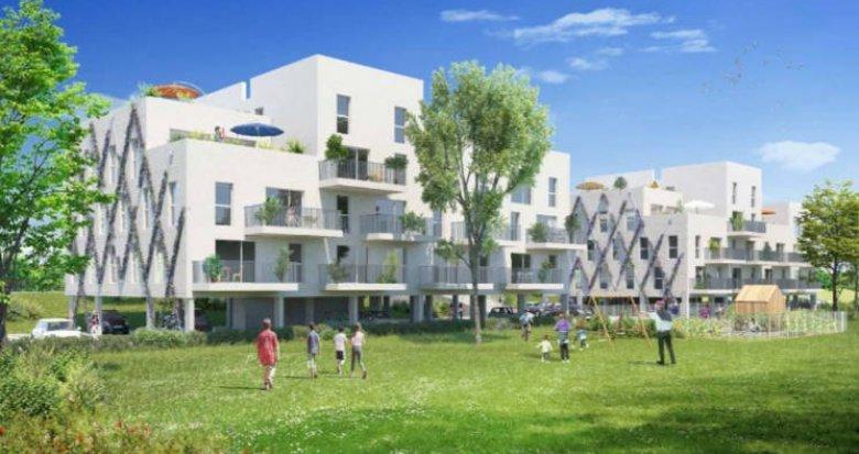 Achat / Vente programme immobilier neuf Louvres à 850 mètres du RER D (95380) - Réf. 4905