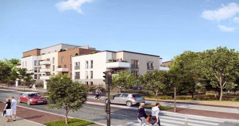 Achat / Vente programme immobilier neuf Louvres proche RER D (95380) - Réf. 4364