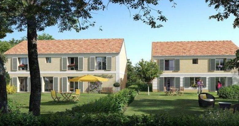 Achat / Vente programme immobilier neuf Maffliers coeur de village (95560) - Réf. 44