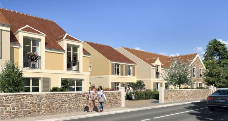 Achat / Vente programme immobilier neuf Magny-les-Hameaux proche Versailles (78114) - Réf. 2767