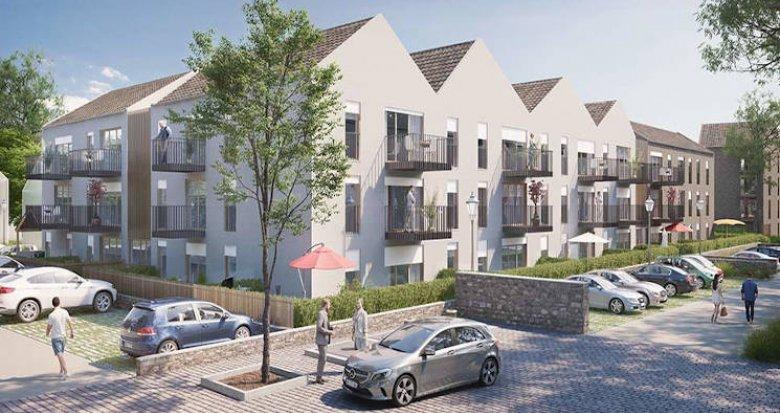 Achat / Vente programme immobilier neuf Marly-la-Ville à 10 minutes en voiture du RER D (95670) - Réf. 3874