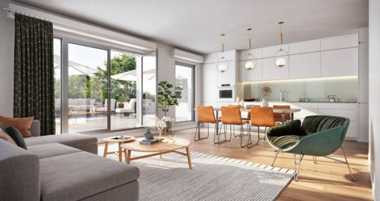Achat / Vente programme immobilier neuf Massy à 800m de la future station du métro L18 (91300) - Réf. 5994