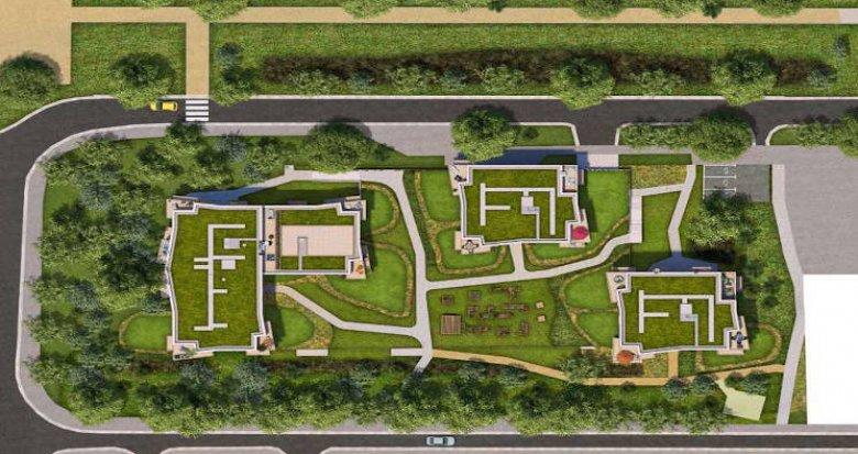 Achat / Vente programme immobilier neuf Massy au coeur du parc Vilgénis (91300) - Réf. 4993