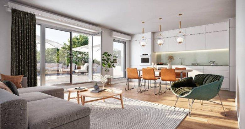 Achat / Vente programme immobilier neuf Massy au cœur du quartier Descartes (91300) - Réf. 5974