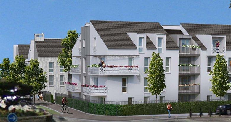 Achat / Vente programme immobilier neuf Melun à 10 min de la gare (77000) - Réf. 5273