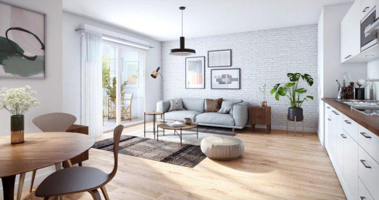 Achat / Vente programme immobilier neuf Melun au cœur du nouvel éco-quartier (77000) - Réf. 5568