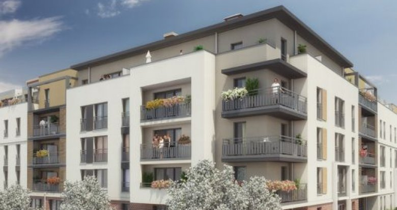Achat / Vente programme immobilier neuf Melun proche centre-ville (77000) - Réf. 1155