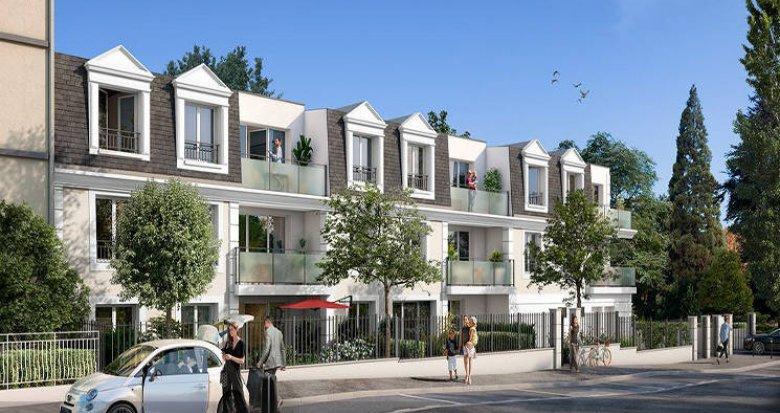 Achat / Vente programme immobilier neuf Melun proche Parc Debreuil (77000) - Réf. 4533