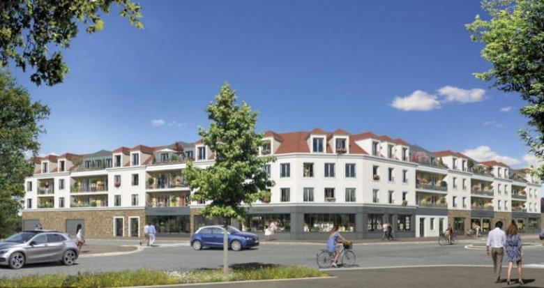 Achat / Vente programme immobilier neuf Mennecy à 800 mètres du RER (91540) - Réf. 5443