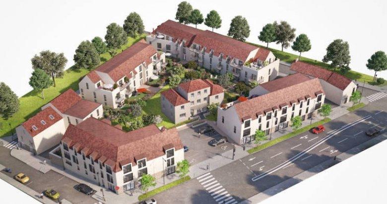 Achat / Vente programme immobilier neuf Mennecy bordée par les établissements scolaires (91540) - Réf. 4486