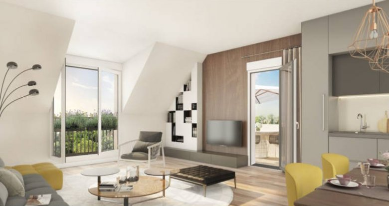 Achat / Vente programme immobilier neuf Mennecy coeur de ville (91540) - Réf. 2726