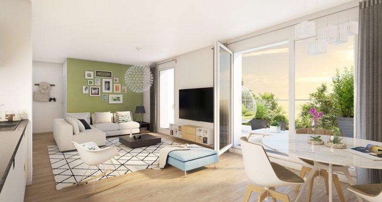 Achat / Vente programme immobilier neuf Meulan proche commodités (78250) - Réf. 1659