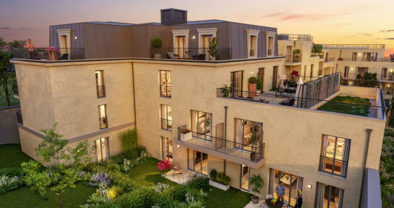 Achat / Vente programme immobilier neuf Montesson à proximité immédiate du centre (78360) - Réf. 6062
