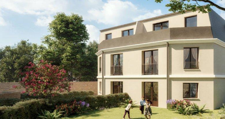 Achat / Vente programme immobilier neuf Montesson à quelques minutes du centre-ville (78360) - Réf. 3854