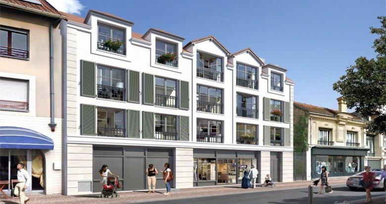Achat / Vente programme immobilier neuf Montesson proche place du Marché (78360) - Réf. 245