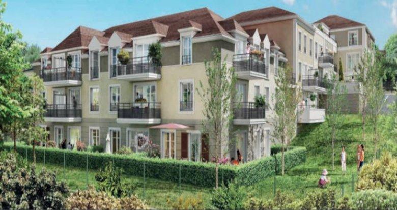 Achat / Vente programme immobilier neuf Montévrain coeur quartier Bourg (77144) - Réf. 2694