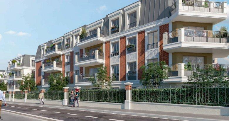 Achat / Vente programme immobilier neuf Montfermeil à 4 min du tramway T4 (93370) - Réf. 5230
