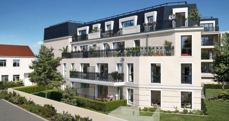 Achat / Vente programme immobilier neuf Montfermeil à 50 mètres de Chelles (93370) - Réf. 5542