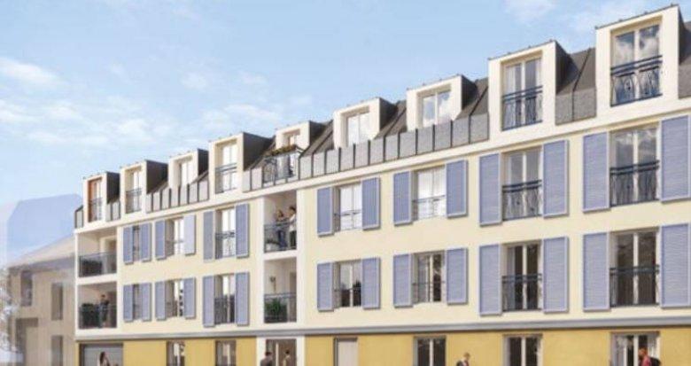 Achat / Vente programme immobilier neuf Montfermeil en lisière du parc proche bus (93370) - Réf. 5101