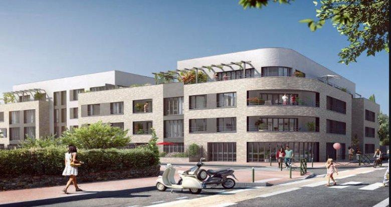 Achat / Vente programme immobilier neuf Montgeron en plein cœur de ville (91230) - Réf. 4540