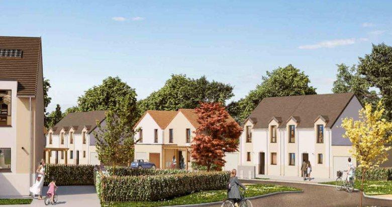 Achat / Vente programme immobilier neuf Montlhéry à 10 min à pied des commodités (91310) - Réf. 4731
