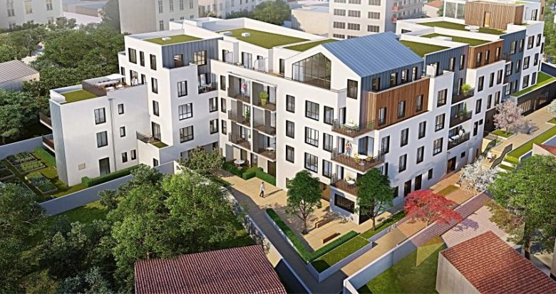 Achat / Vente programme immobilier neuf Montreuil proche Mairie (93100) - Réf. 344