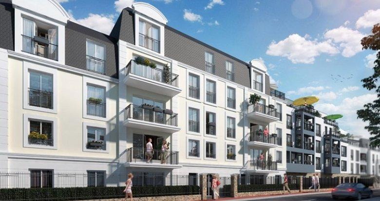 Achat / Vente programme immobilier neuf Noisy-le-Grand 700 mètres du cœur de ville (93160) - Réf. 2644