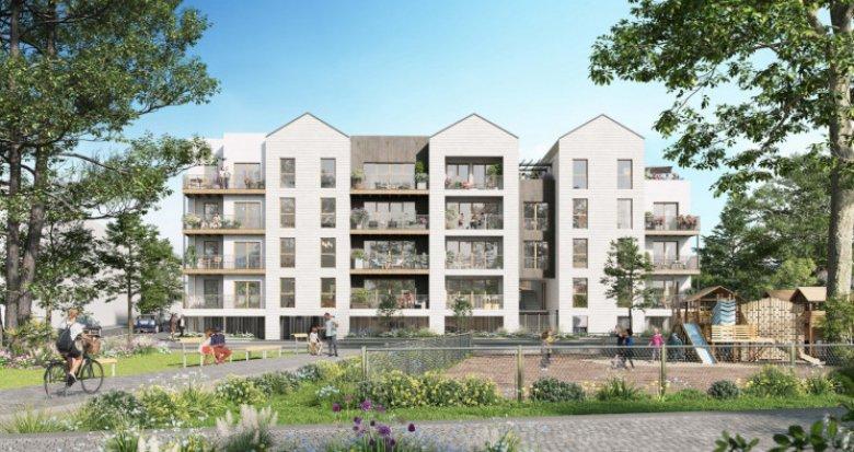 Achat / Vente programme immobilier neuf Noisy-le-Grand éco-quartier de l'Île de la Marne (93160) - Réf. 5573