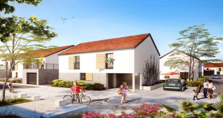 Achat / Vente programme immobilier neuf Ormoy coeur Plaine de Saint-Jacques (91540) - Réf. 2768