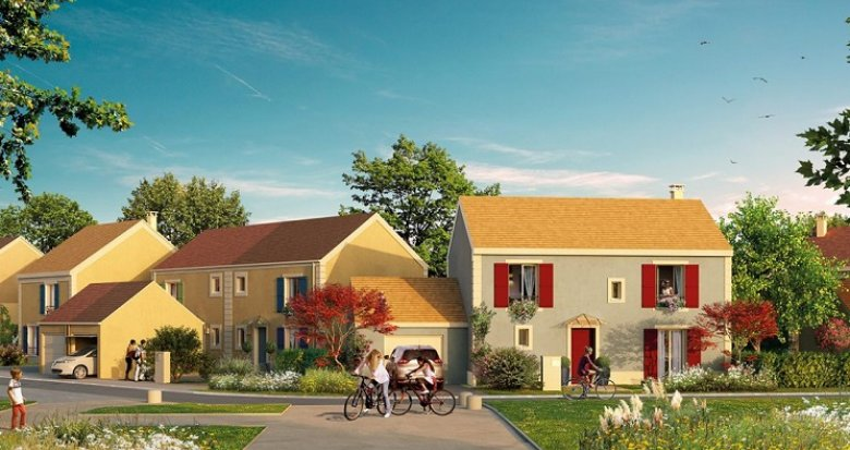 Achat / Vente programme immobilier neuf Osny proche centre-ville (95520) - Réf. 4984