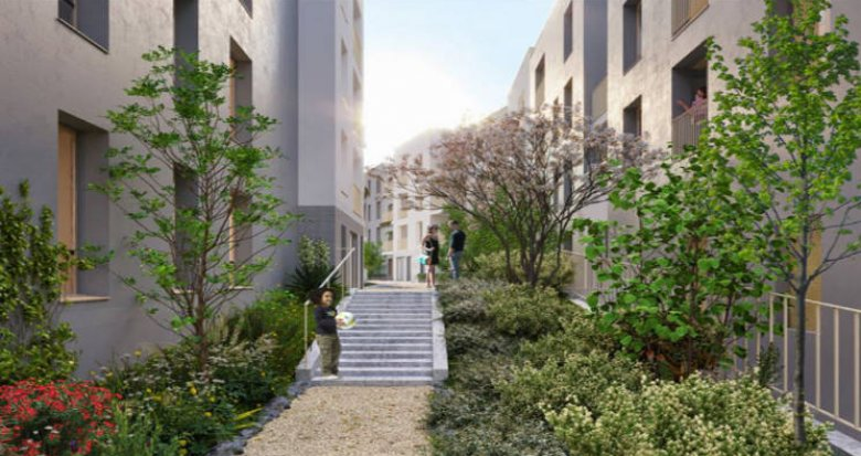 Achat / Vente programme immobilier neuf Pierrefitte -sur-Seine à 100 mètres du tramway T5 (93380) - Réf. 5326