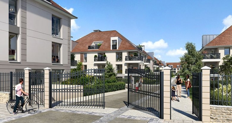 Achat / Vente programme immobilier neuf Plaisir proche base de loisirs de Saint-Quentin (78370) - Réf. 2115