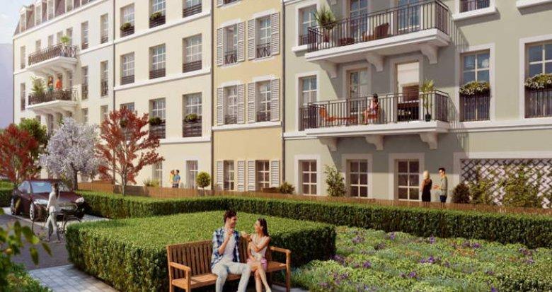Achat / Vente programme immobilier neuf Pontoise proche RER et de la place centrale (95000) - Réf. 5987