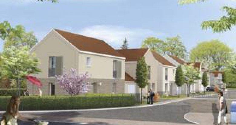 Achat / Vente programme immobilier neuf Porcheville proche gare (78440) - Réf. 3604