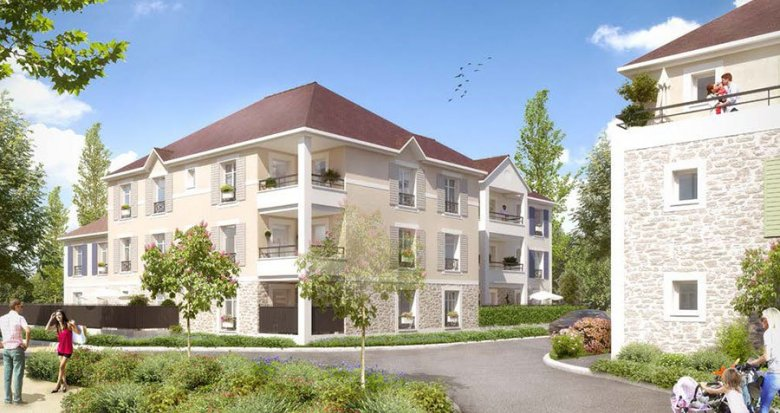 Achat / Vente programme immobilier neuf Rubelle quartier Les Trois Noyers (77950) - Réf. 1842