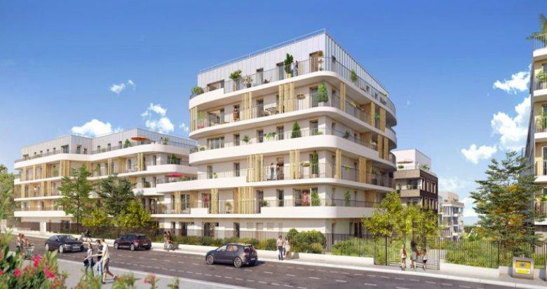 Achat / Vente programme immobilier neuf Rueil-Malmaison proche Buzenval (92500) - Réf. 5757