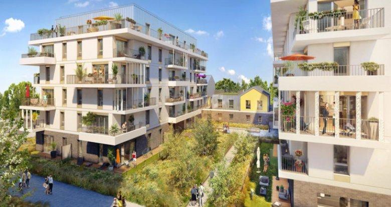 Achat / Vente programme immobilier neuf Rueil-Malmaison quartier Buzenval (92500) - Réf. 5756