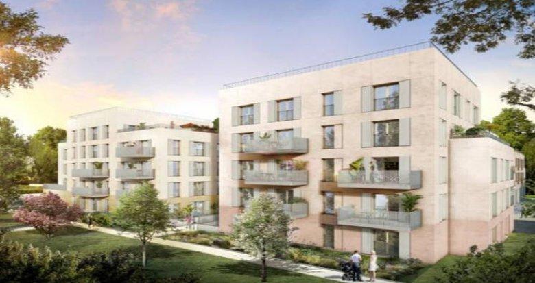 Achat / Vente programme immobilier neuf Rungis cœur agro-quartier de Montjean (94150) - Réf. 4817