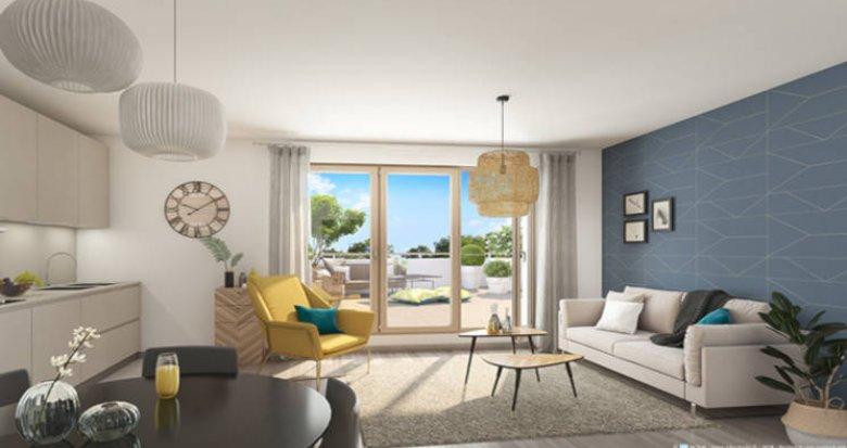 Achat / Vente programme immobilier neuf Rungis proche tramway T7 (94150) - Réf. 5097
