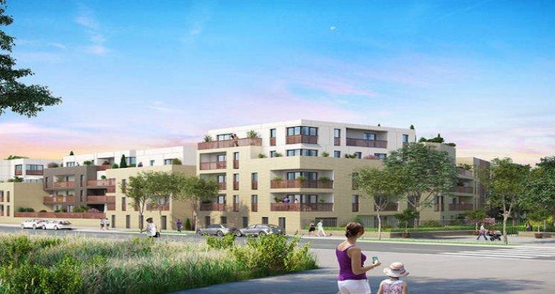Achat / Vente programme immobilier neuf Saint-Cyr-l'Ecole à 1 kilomètre du RER C (78210) - Réf. 3918