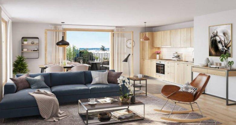 Achat / Vente programme immobilier neuf Saint-Cyr-l'Ecole futur quartier Plaine de Vie (78210) - Réf. 4952