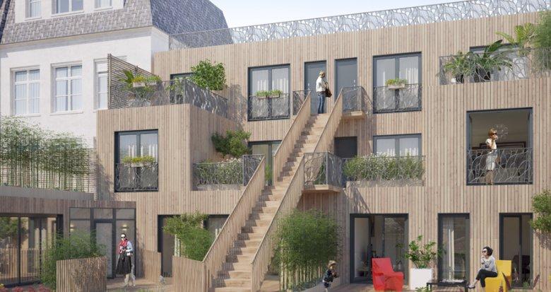 Achat / Vente programme immobilier neuf Saint-Denis centre-ville piétonnier (93200) - Réf. 2892